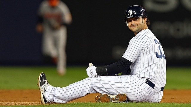 Yankee Fans Are Really Harshing Nick Swisher's Buzz, Bro
