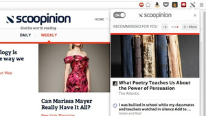 Scoopinion Recommends Articles Based on Your Reading Habits and Browser History