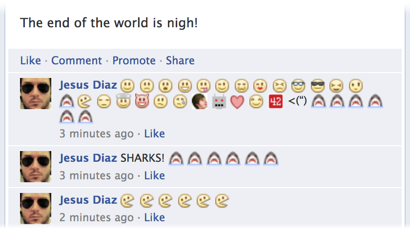Click here to read You Can Use Emoticons In Facebook Comments Now T_T