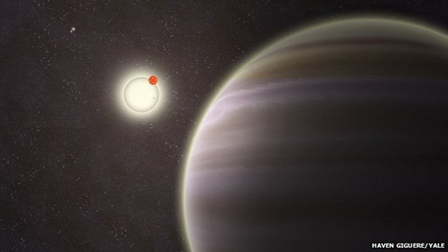 Unprecedented: Amateur astronomers discover a planet with four suns