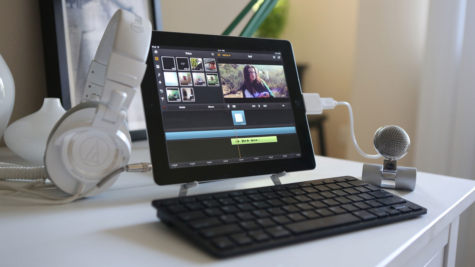 Click here to read The iPad Video Editing Workstation