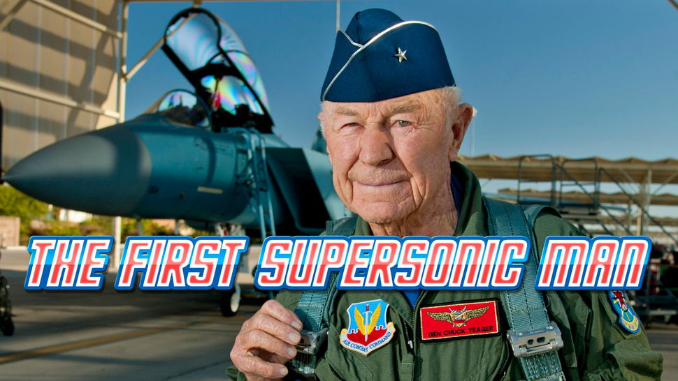 Chuck Yeager Breaks Speed of Sound Once Again—65 Years After His Historic Flight