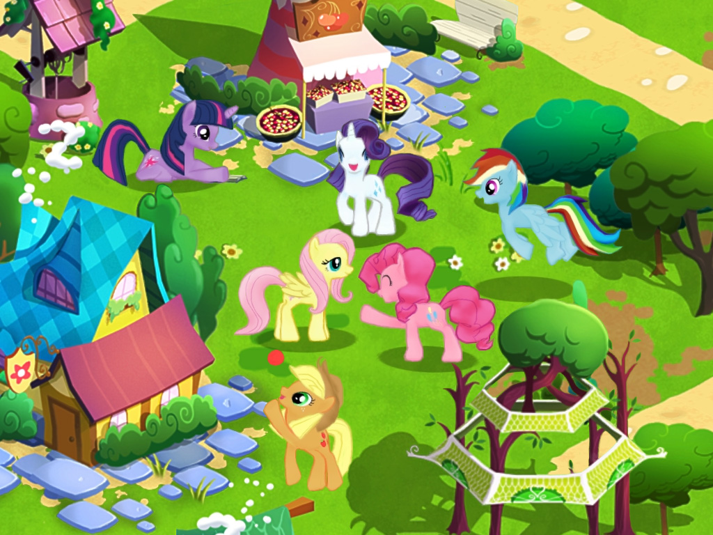 The My Little Pony: Friendship Is Magic Video Game Screenshots Are ...