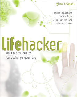 Sneak Preview:  Lifehacker the book's table of contents
