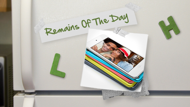 Click here to read Remains of the Day: The New iPod Touch Leaves a Bit to Be Desired