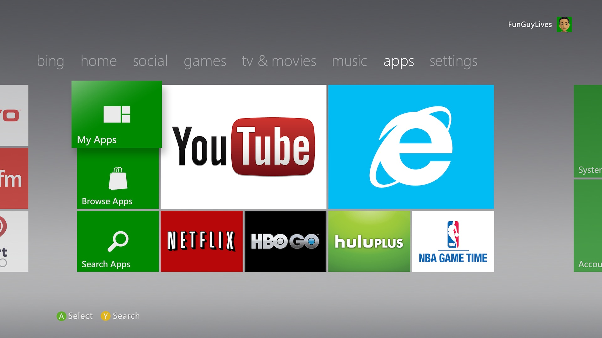 xbox 360 dashboard update oh hey internet explorer for your tv