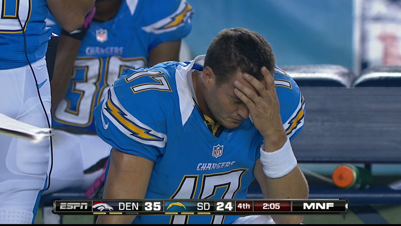 If Ever A Moment Called For Facepalm, It's Philip Rivers Last N…