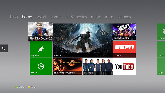 You're Getting a (Slightly) New Xbox 360 Dashboard Today