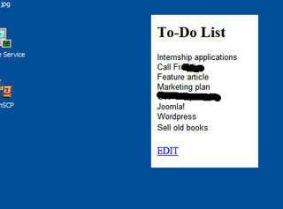 Embed Your To-Do List Onto Your Desktop