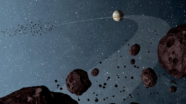 NASA sheds some light on Jupiter's mysterious companion asteroids