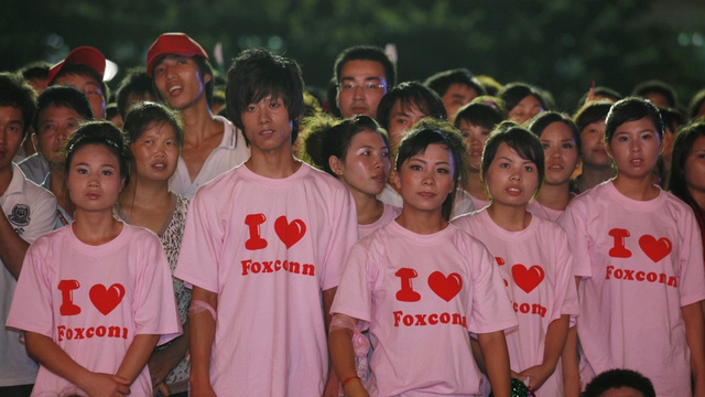 Foxconn Admits to Having  Had Child Laborers in Its Factories