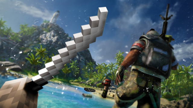Far Cry 3 Set To Invade Minecraft