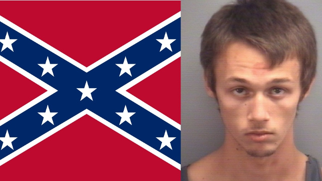 Tough Guy Pulls Gun on Elementary School Students After They Make Fun of His Confederate Flag