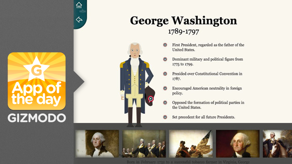 Click here to read American Presidents for iPad: Review All 44 Commanders In Chief
