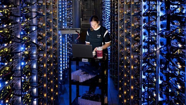 Click here to read Full Virtual Access Inside Google's Secretive Data Centers