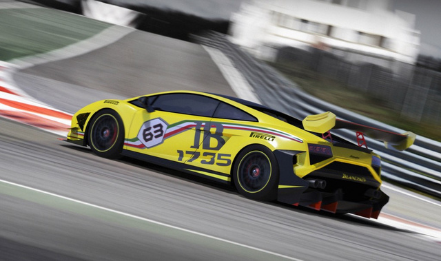 2013 Lamborghini Gallardo LP 570-4 Super Trofeo: Big Name, Small Lap Times