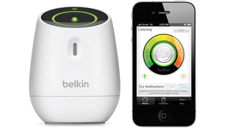 Click here to read Belkin's WeMo Baby Monitor Turns Your iPhone Into a Nanny