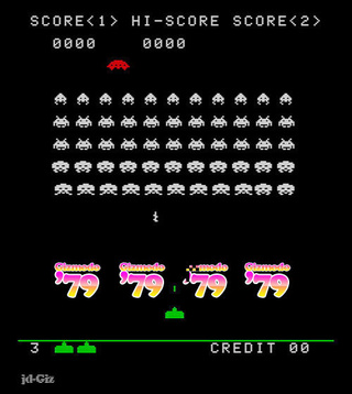 Space Invaders Under the Influence