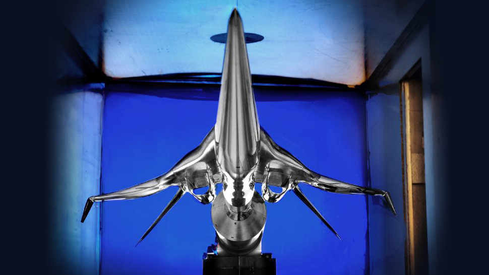 The Awesome NASA Supersonic Passenger Plane That Wants to Kill the Sonic Boom
