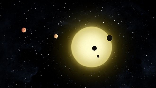 Astronomers find five planets packed into a ridiculously tight orbit around the same star