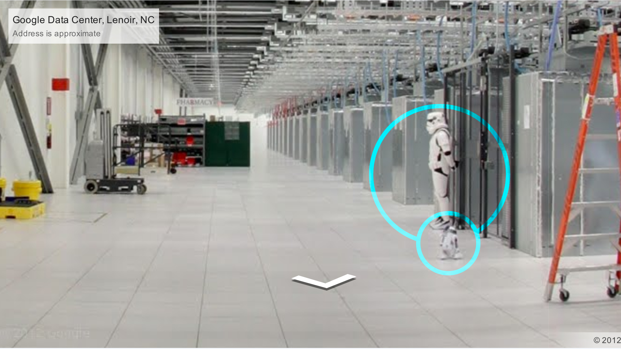 There's A Imperial Stormtrooper At Google's Data Center