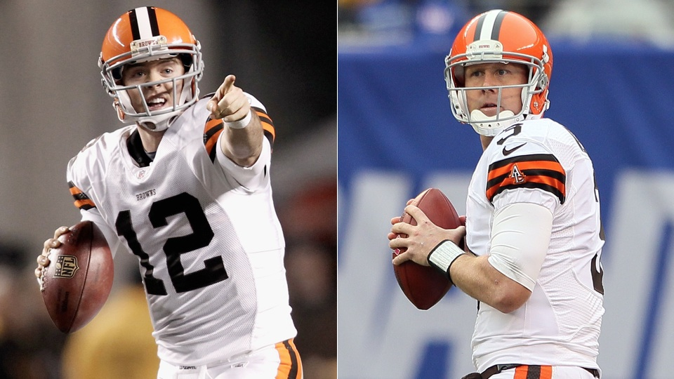 Paul Ryan Mistook Colt McCoy For Brandon Weeden At Browns Pract…