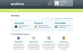 Five Best Wishlist Tools