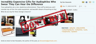 Incredibly Expensive Gifts for Audiophiles Who Swear They Can Hear the Difference