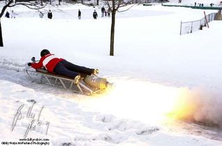 The Rocket Sled that Made Winter Cry