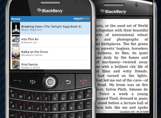 Kindle App Arrives on BlackBerry