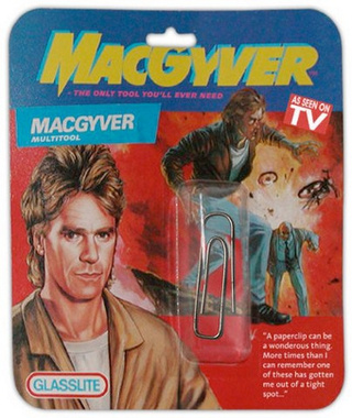 The Man Behind MacGyver: Swiss Army Knife or Duct Tape?