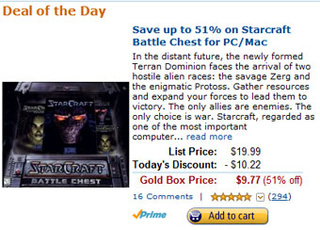It's Blizzard Deal Day On Amazon