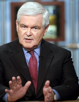 Newt Gingrich is Equally Afraid of 'The Left' and Terrorists