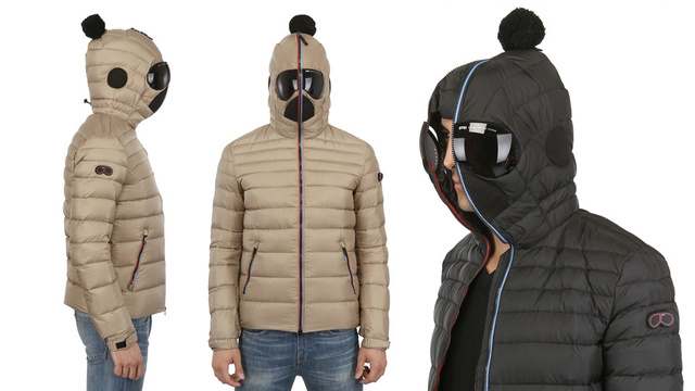 Wear This Goggle Hood Jacket and You Deserve Every Snowball Sent Your Way