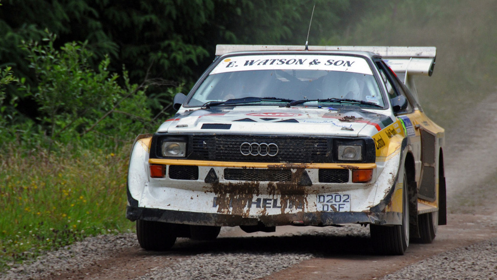 Would You Get Banned For An Audi Quattro?