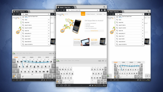 Swype Beta Adds Cross-Device Dictionary Sync, Hotwords, and Swype for Tablets