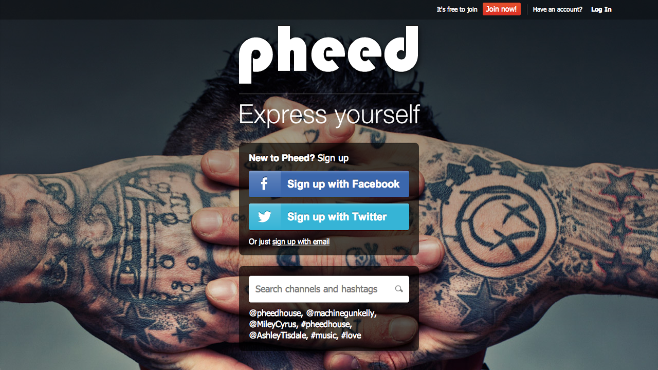 Click here to read What Is Pheed?