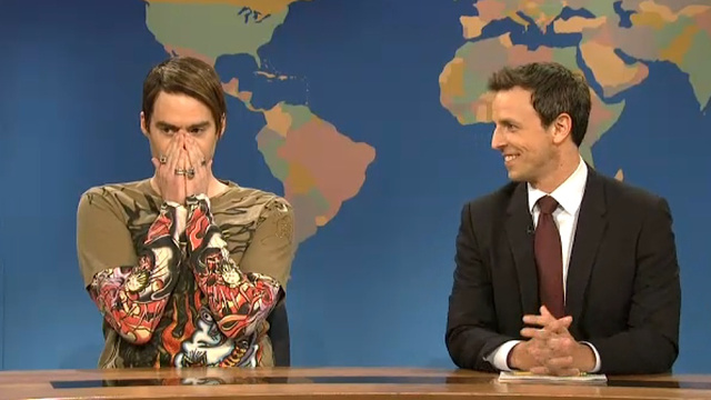 Stefon Regales Us with Spooky Tales of Halloween Debauchery