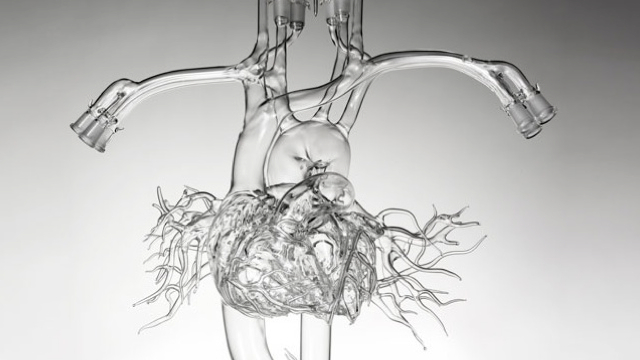 Someone went and made a real-life heart of glass