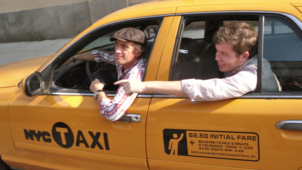 <i>Top Gear</i>'s Richard Hammond Drove Me Around New York In His Taxi Cab
