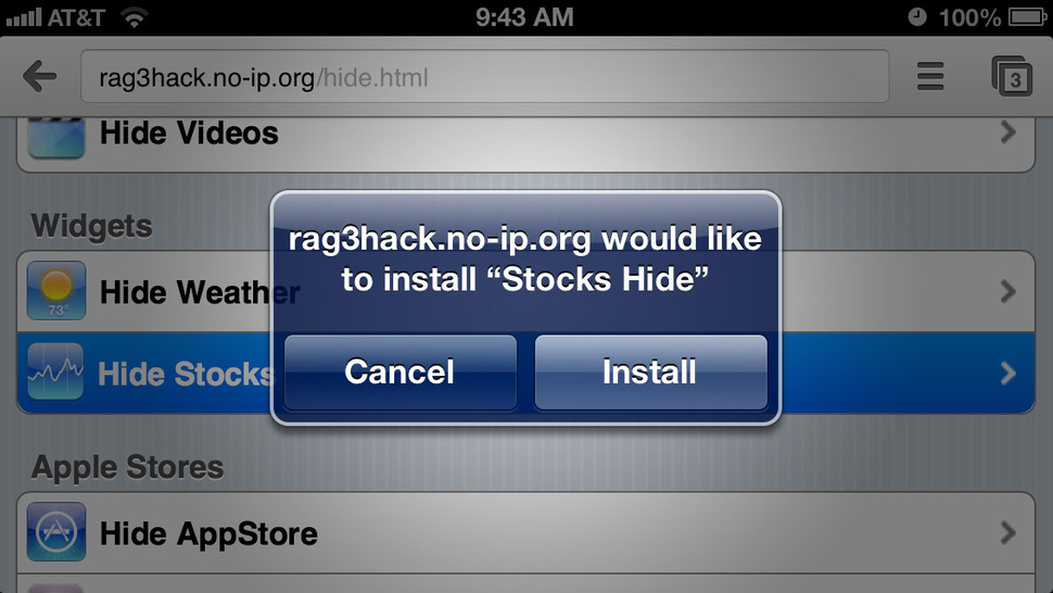 Hide Unwanted Apple iOS Apps <em>Without</em> Jailbreaking