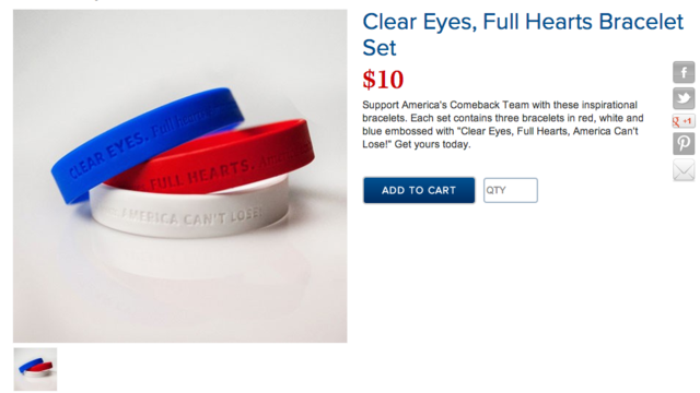 Clear Eyes, Zero Class: Mitt Romney's Now Selling Plagiarized Friday Night Lights Crap