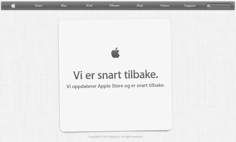 Click here to read The Apple Store Is Down As a Nation Trembles in Confusion and Fear