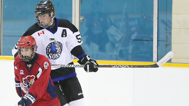 It's Surprisingly Miserable Being An Enormous 12-Year-Old Hockey Player