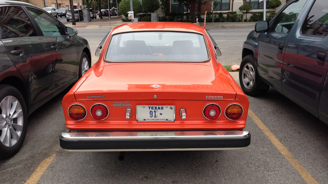 This Opel Manta Is A Bolt Of Orange Lightning