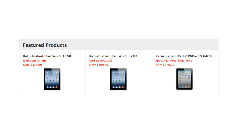 Click here to read You Can Buy an iPad 3 with Retina Display for Cheaper Than the iPad 2