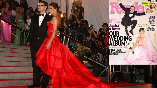 As Details Leak, It Becomes Apparent Jessica Biel Was Merely a Guest at Justin Timberlake's Wedding to Himself