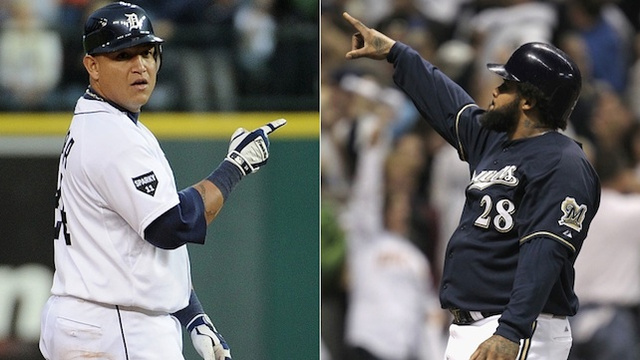 Which Will Prince Fielder And Miguel Cabrera Reach First: 600 Combined Homers Or 600 Combined Pounds?