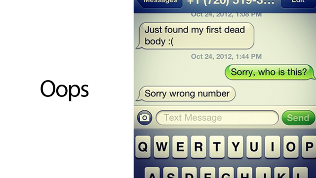What's the Worst Accidental Text You've Ever Sent or Received?