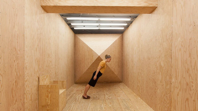 "This disorienting room has ""gravitational mystery spots"" that will literally make you sick"